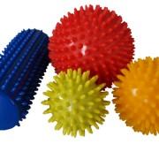 balones y rollos de puyas