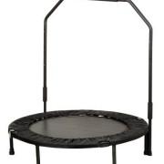 trampolin con barra